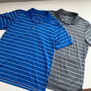 Men's Adidas Pure Motion Golf Polo Lot of 2 Size S